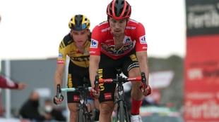 Primoz Roglic (31) en la Vuelta a España 2020.