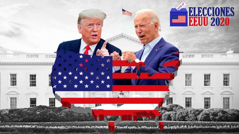 Elecciones USA 2020, Donald Trump y Joe Biden, la carrera por la...