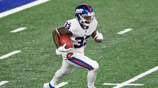 Dion Lewis, de los New York Giants.