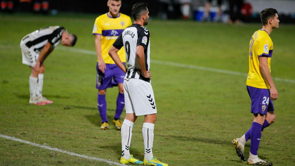 El Castellón juega bien, pero paga el no encontrar el camino del gol