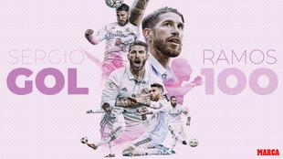 La leyenda de Ramos continúa: ¡100 goles con el Madrid!