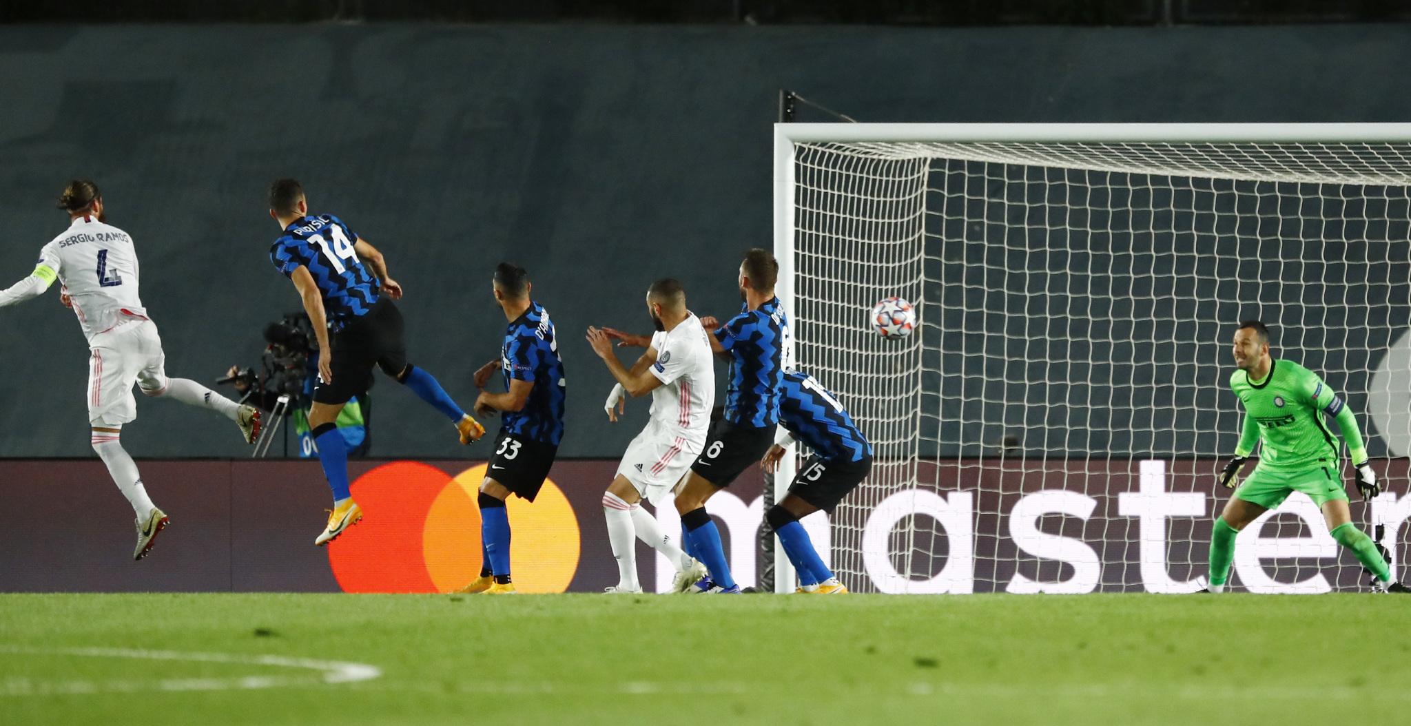 Real Madrid vs Inter de Milan: resumen, goles y resultado del partido de la Champions League 2020