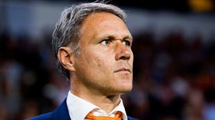 Marco van Basten como seleccionador