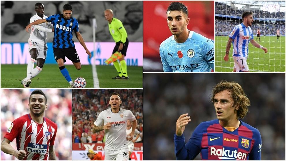 Mendy's victims: Achraf, Griezmann, Messi, Ocampos, Ferran and Portu