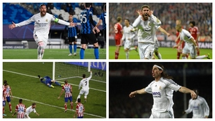 Los 10 goles de museo de Ramos, de todos los colores: estos son los que tienes que recordar