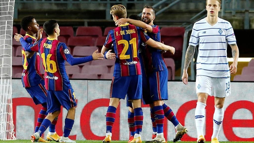 Download Barcelona Vs Dynamo Kyiv 2020