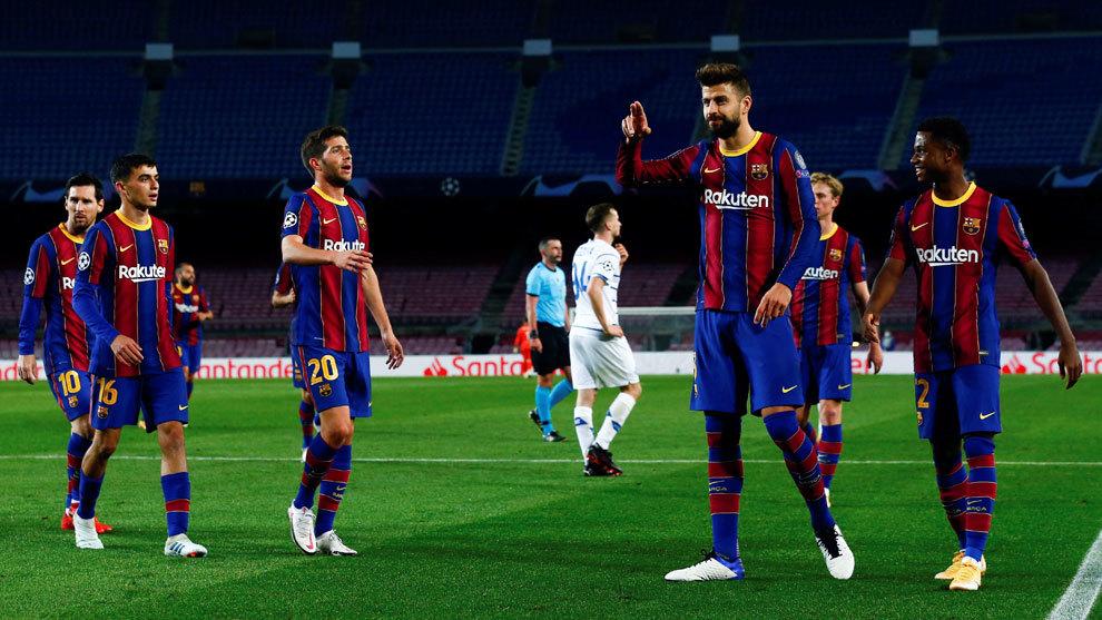Las cuentas del Barça para estar en octavos