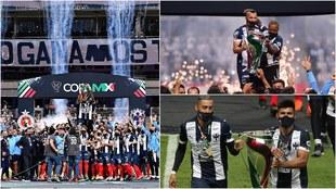 Monterrey se lleva la Copa MX.