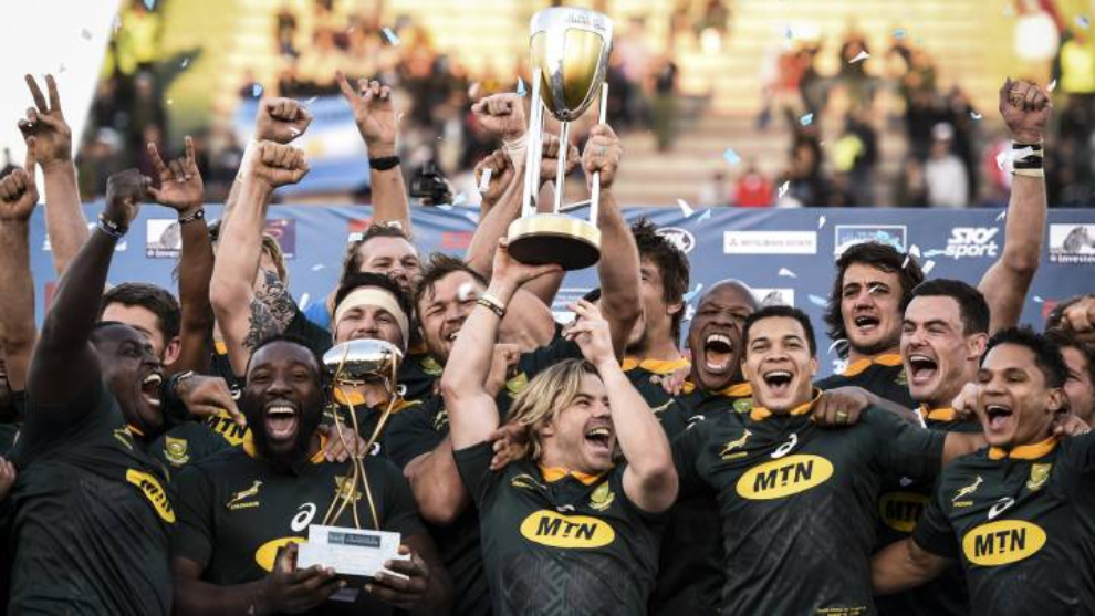 Sudáfrica conquistó el Rugby Championship 2019.
