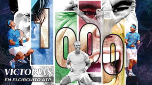 Rafa Nadal 1000 victoria atp