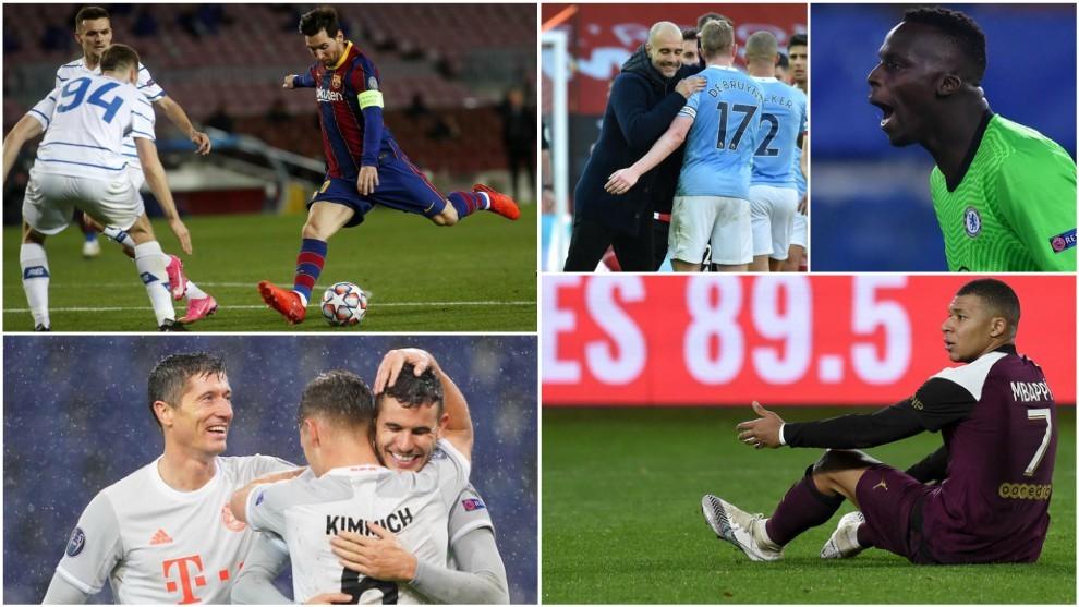 Lo que deja la Champions... por ahora: los cuatro magníficos, un killer en horas bajas, un récord para la historia...