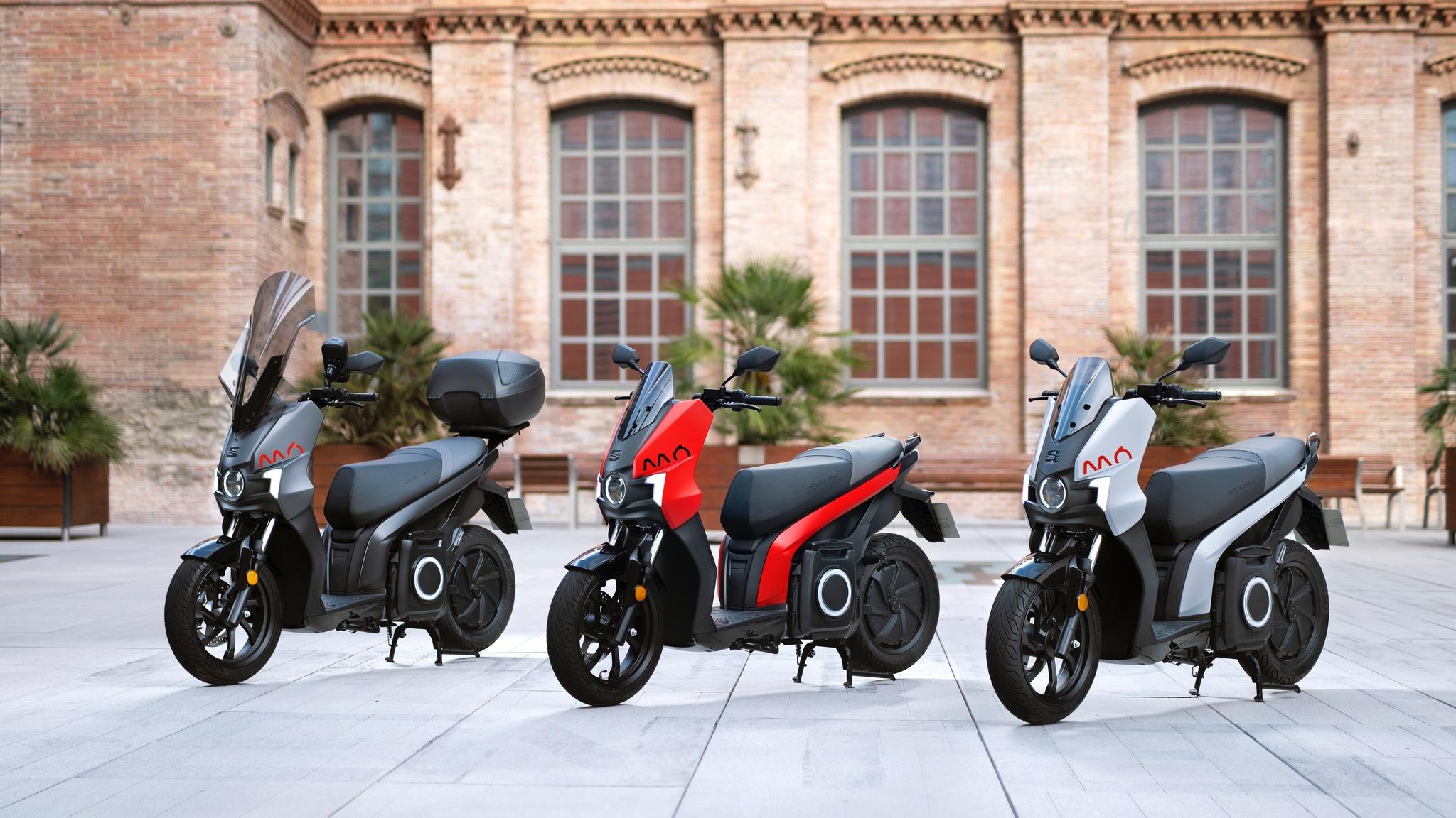 La nueva Seat Mó eScooter 125, la primera moto 100% eléctrica de Seat.
