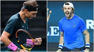 Rafael Nadal y Jordan Thompson