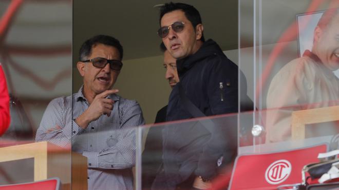 Juan Carlos Osorio en el Estadio Nemesio Diez de Toluca.