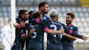 Napoli sumó tres puntos ante el Rijeka