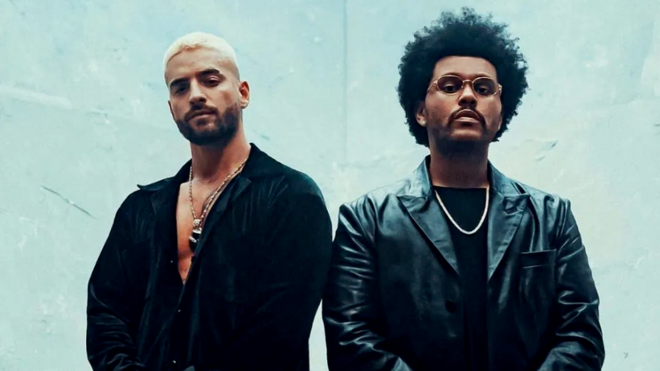 Maluma y The Weeknd hacen estallar las redes sociales con nuevo remix de  'Hawái' | MARCA Claro México