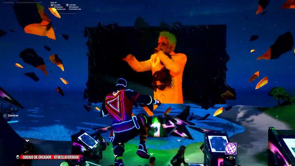 El concierto de J Balvin en Fortnite: calaveras, calazabas y mucho ritmo