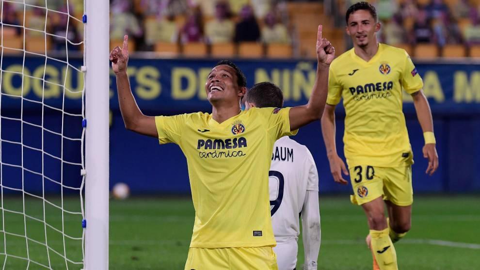 Bacca hat-trick puts Villarreal in control