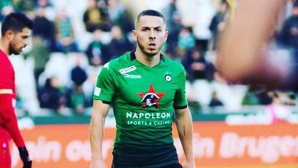 Kylian Hazard, en un partido con el C