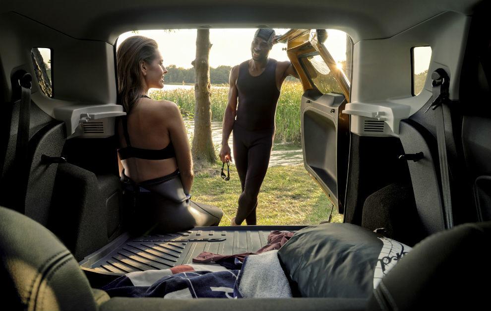 Con este modelo, Ford ha pensado en las necesidades de los amantes de la vida al aire libre.