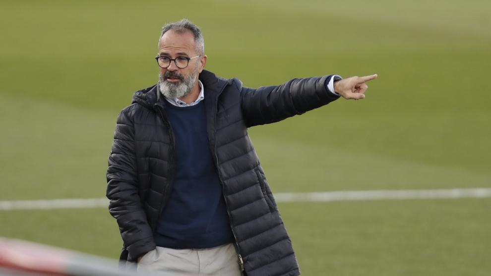 Álvaro Cervera durante el partido de LaLiga entre el Cádiz CF y el...