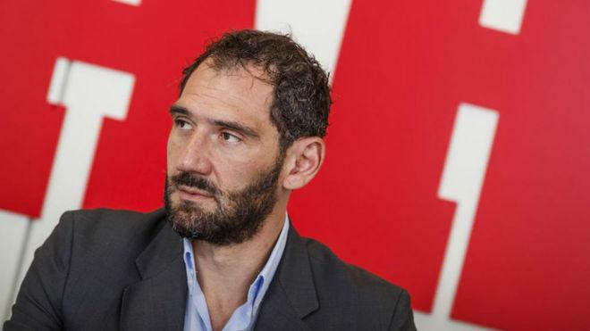Jorge Garbajosa en una entrevista en Marca.
