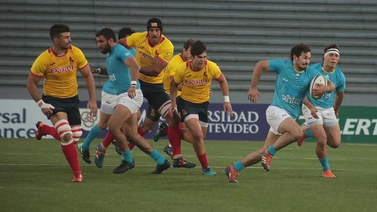 Imagen del Uruguay - España ganado por los charrúas, pero tras dura...