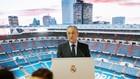 Florentino, en una imagen de archivo durante la presentación de...