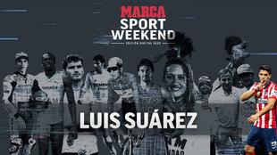 Luis Suárez, el mejor remate del MARCA Sport Weekend