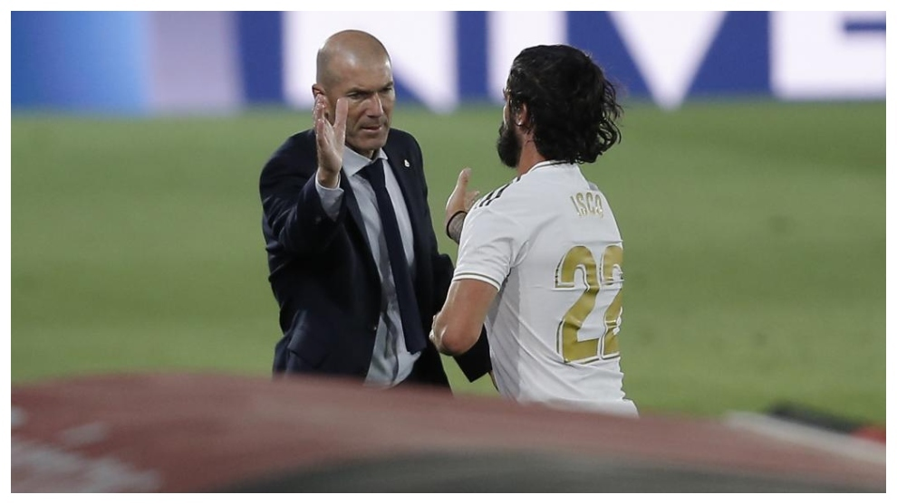 Zidane and Isco.