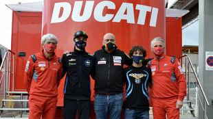 Dall'Igna, Marini, Romero, Bastianini y Ciabatti.