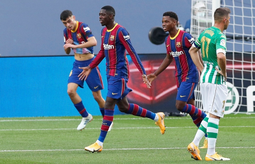 Partidos de hoy: Barcelona vs Real Betis, en vivo el partido de la jornada 9 de LaLiga | MARCA Claro México