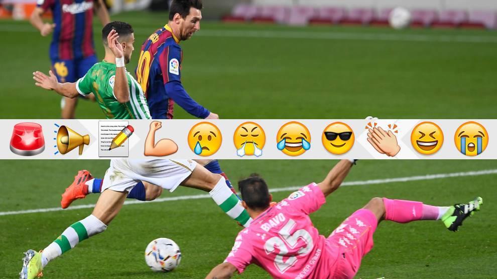 Messi es el mejor sin correr... y sin tocar el balón