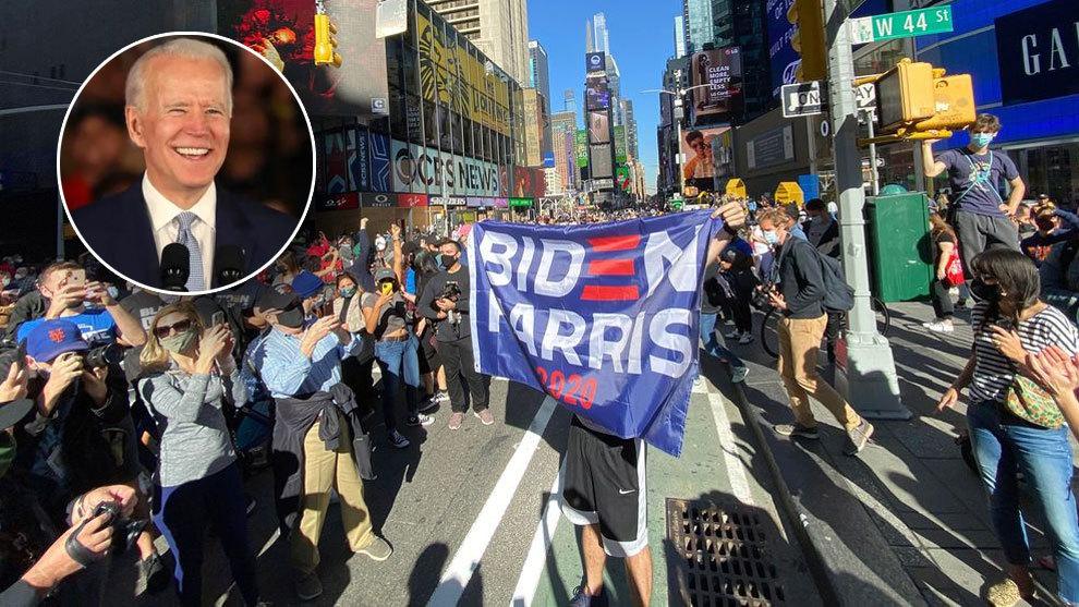 Elecciones USA 2020: Joe Biden gana las elecciones y las calles de Estados Unidos celebran el triunfo, en directo | Marca.com