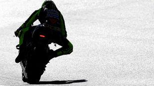 Valentino Rossi, en el Ricardo Tormo.