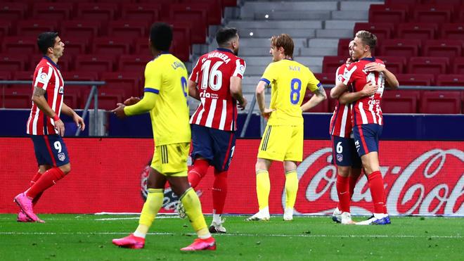 Diego Simeone halaga a Héctor Herrera y resalta su rendimiento en el campo