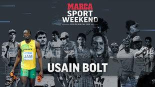 Usain Bolt 'reaparece' en el MARCA Sport Weekend
