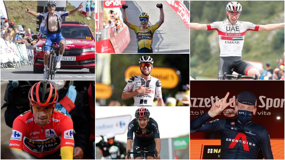 Los ciclistas más destacados de este año 2020.