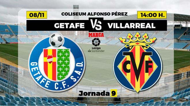 Alineaciones confirmadas del Getafe-Villarreal: Cabaco hará de Damián y Parejo toma el mando de los de Emery