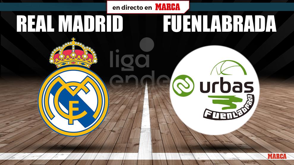 Real Madrid - Fuenlabrada, en directo