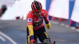 Primoz Roglic (31) durante la Vuelta a España 2020.