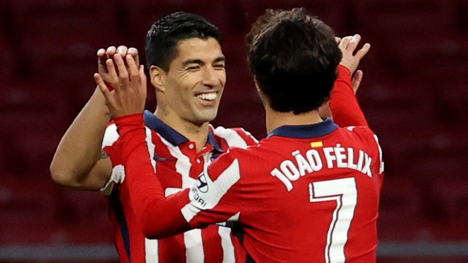 Luis Suarez and Joao Felix.
