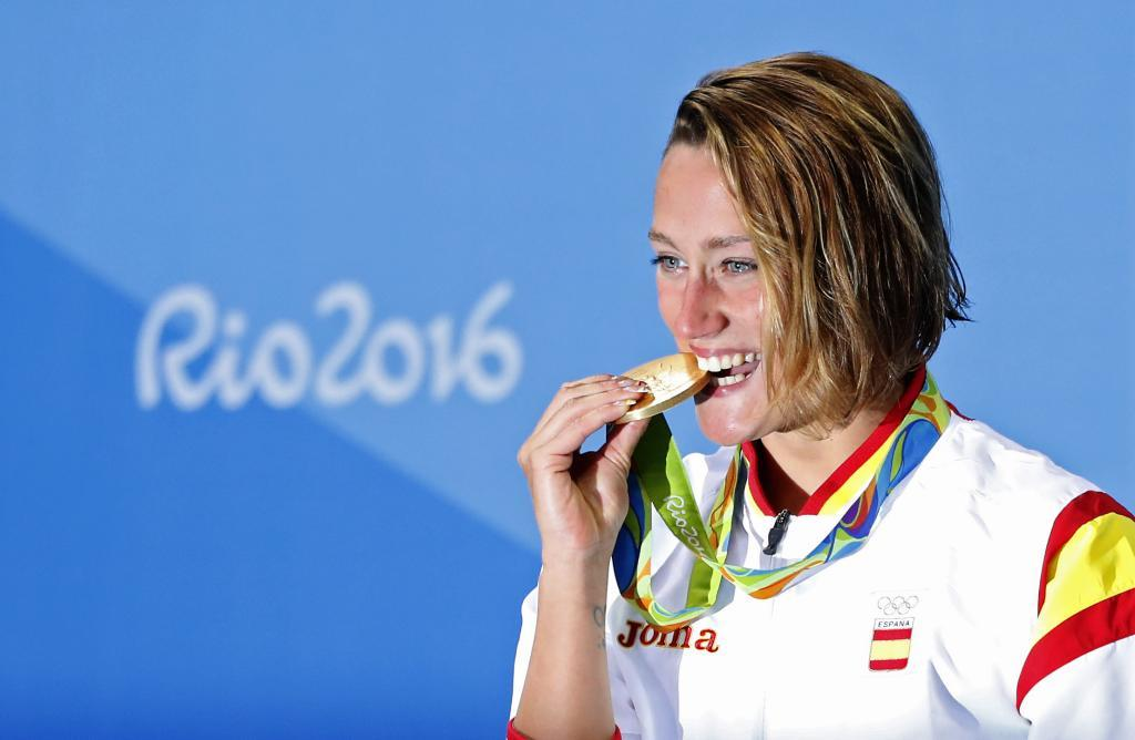 Mireia Belmonte, oro en 200 mariposa en Río 2016
