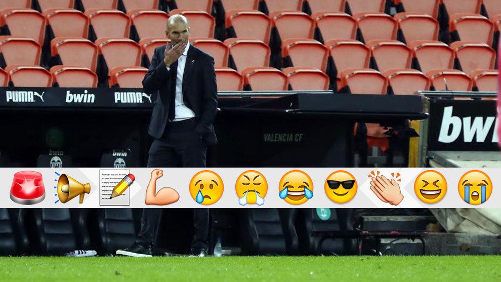 A Zidane le va a devorar el personaje