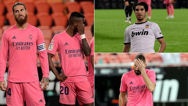 El Madrid se queda sin defensa
