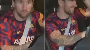 El curioso piropo de un aficionado que sacó una sonrisa a Leo Messi
