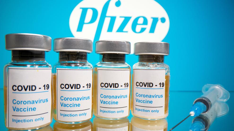La vacuna desarrollada por Pfizer es 90% eficaz contra el coronavirus....