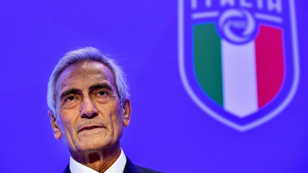 Gravina, presidente de la Federación de Italia de fútbol