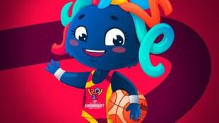 Lola, la mascota del Eurobasket 2021.