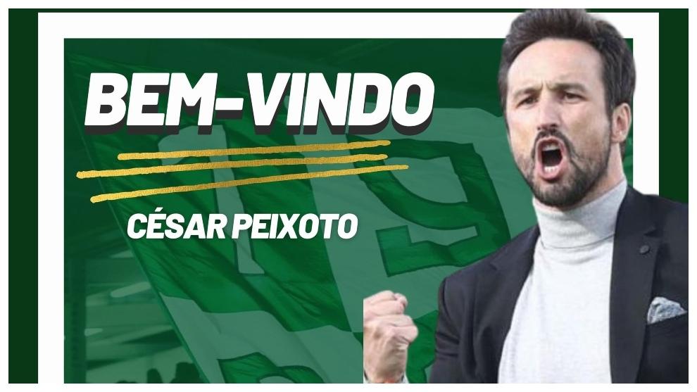César Peixoto, presentado como nuevo entrenador de Moreirense.
